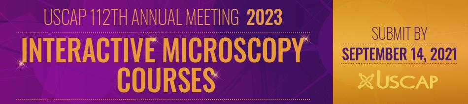 2023 Interactive Microscopy Proposal Banner